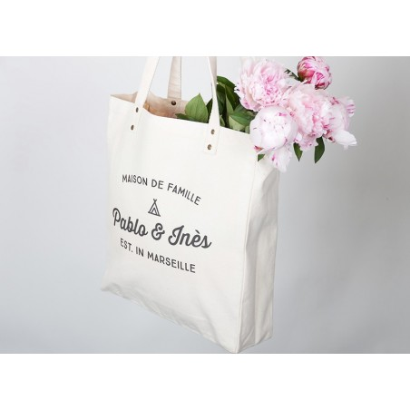 Tote Bag personnalisable Trendy Pablo Inès