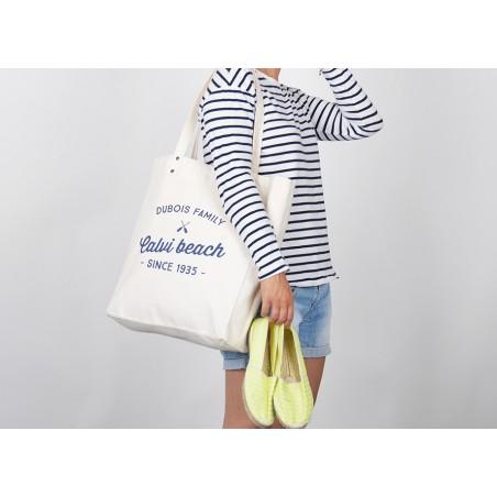 Tote Bag personnalisable Trendy Calvi Beach