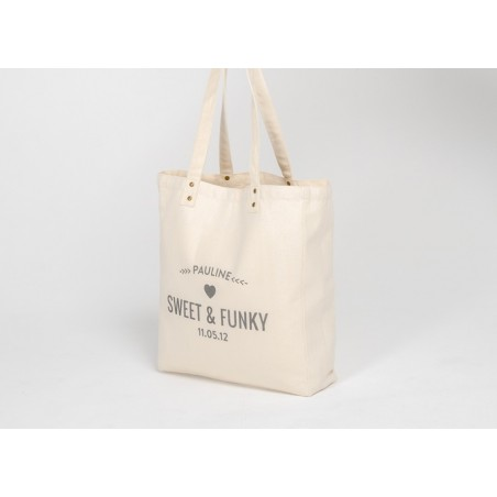 Sac personnalisable Tote Bag Trendy