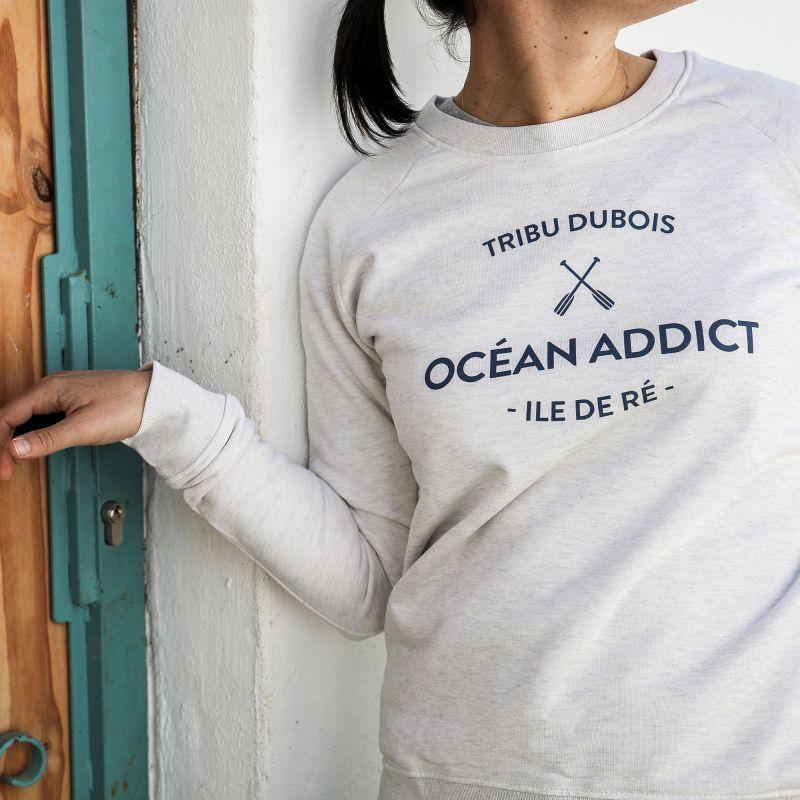 Sweater Femme personnalisable - couleur crème