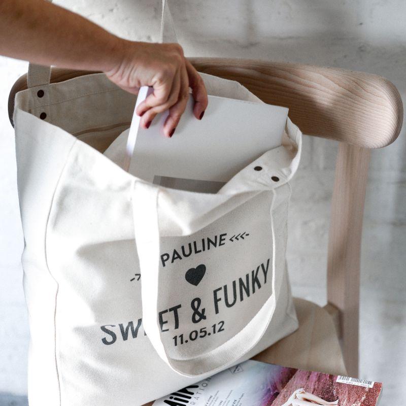 Sac Tote Bag personnalisable Trendy